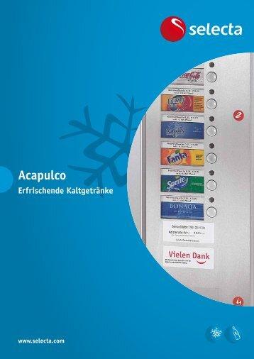 Prospekt Acapulco - Selecta Deutschland GmbH