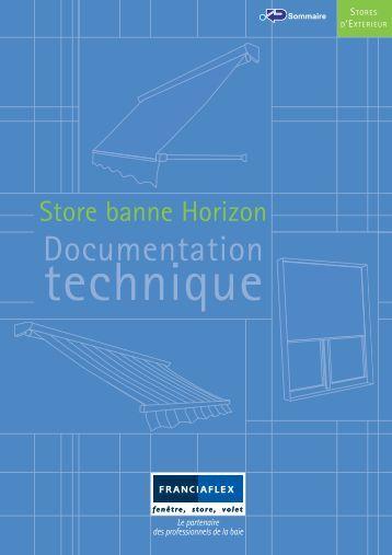 Store projection bannette franciaflex - Store banne franciaflex ...