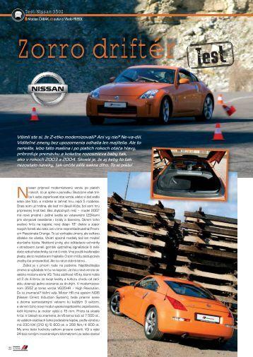 Test: Nissan 350Z - AutoTuning.sk