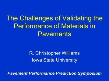 Fuck Brett Williams - Petersen Asphalt Research Conference