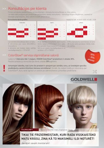 Page 1 Konsultācijas pie klienta ColorGlowIQ servisa stiprināšanai ...
