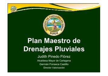Plan Maestro de Drenajes Pluviales - Cartagena (Parte 1)