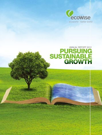 Annual Report 2012 - ecoWise Holdings Limited
