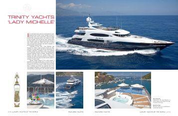 Luxury Yachts of The World - Trinity Yachts