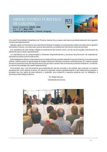 Anuario 2006 - Intendencia de Colonia