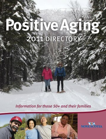 2011 Positive Aging Directory - Government of Nova Scotia