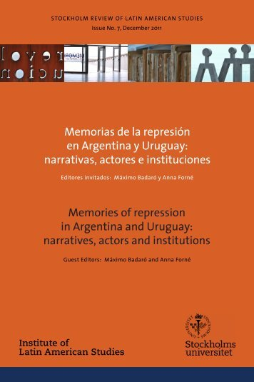 Issue No. 7, December 2011 - Institute of Latin American Studies
