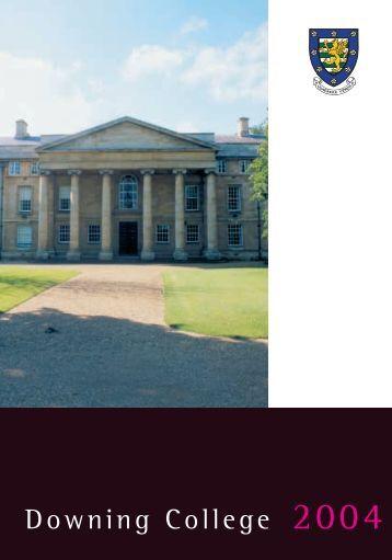 Downing College 2004 - University of Cambridge