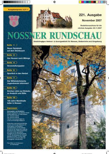 Gesundheit · Wohlbefinden · Fitness - Nossner Rundschau