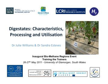 Digestates: Characteristics, Processing and Utilisation