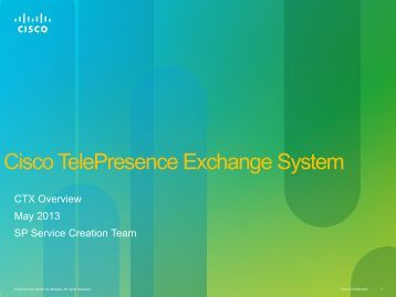 CTX - Cisco Knowledge Network
