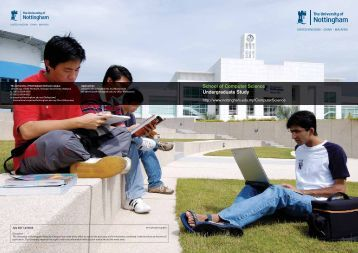 School of Computer Science Undergraduate Study