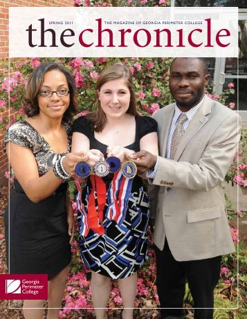 Spring 2011 edition of the Chronicle - GPC Home - Georgia ...