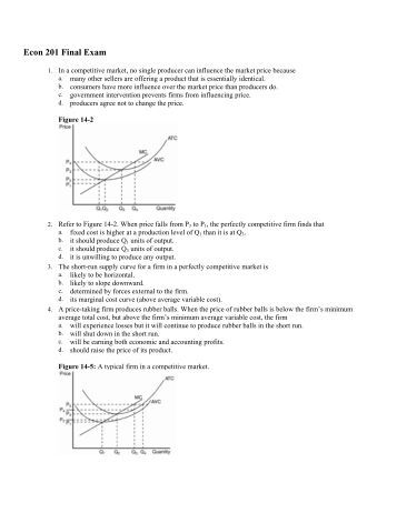 Please Help In Economics FOR A VERY IMPORTANT EXAM!! PLEASE!!?