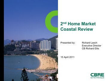 Where to Buy a 2nd Home? - CBRE