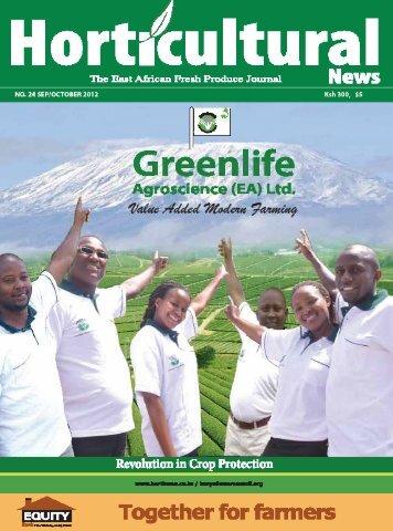 Horticultural news magazine September - October - Hortinews.co.ke