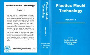 Volume – I - Central Institute of Plastics Engineering & Technology