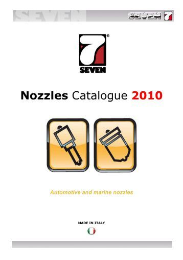 Nozzle Catalogue - SEVEN DIESEL SpA