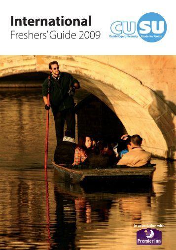 Freshers' Guide 2009 - CUSU International - University of Cambridge