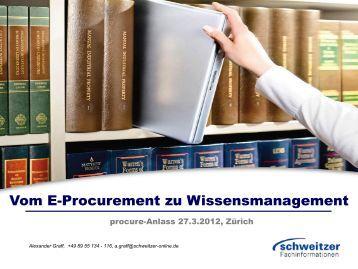 Schweitzer Fachinformationen - Procure.ch
