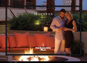 HOUSTON - Four Seasons Hotels and Resorts