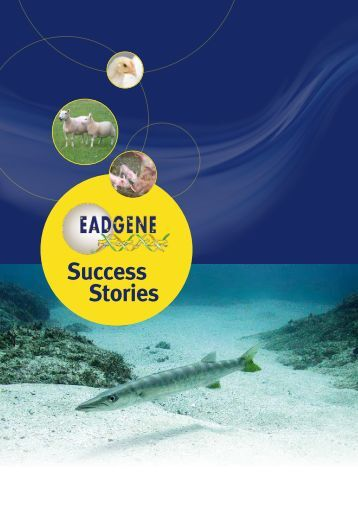 Final Brochure: EADGENE Succes Stories