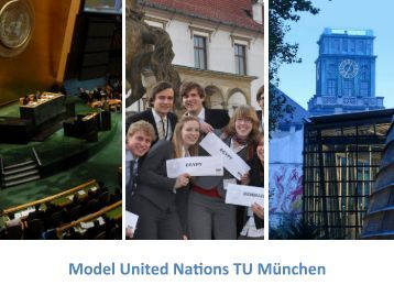 MUNTUM eV Model United Na-ons TU München