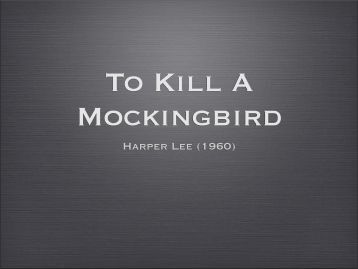 "to kill a mockingbird justice and judgement To kill a mockingbird: bob ewells death was his own fault and i think this may be as close as anyone in to kill a mocking bird has gotten to justice 5 ""judge."