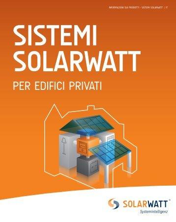 Brochure SOLARWATT sistemi per i clienti privati
