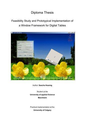 Dissertation Uofc