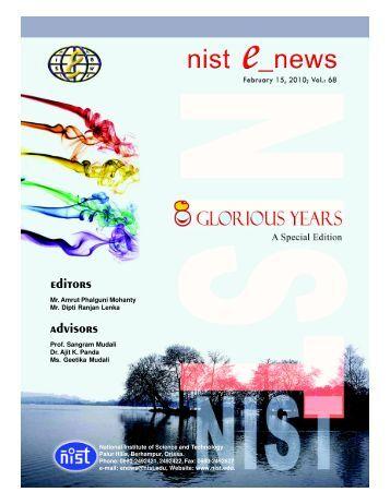 NIST e-NEWS(Vol 68, February 15, 2010)
