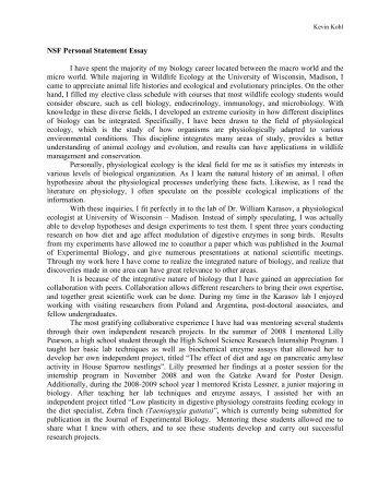 nsf grfp essay advice