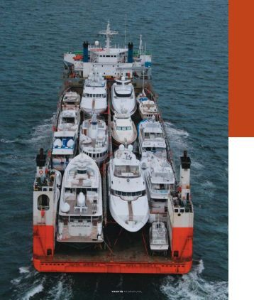 YACHTS INTERNATIONAL - Dockwise Yacht Transport