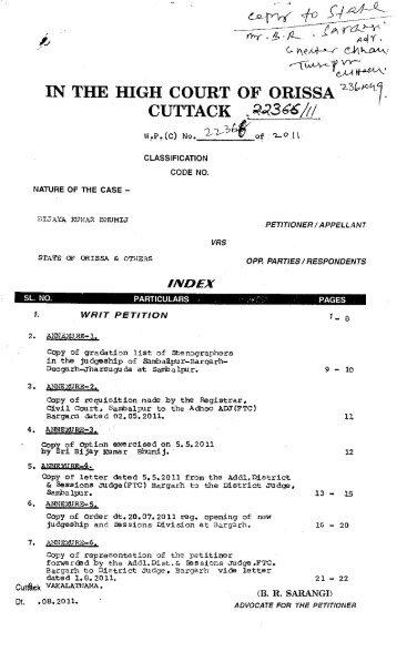 WP(C) 22366 OF 2011 LAW.pdf - Advocate General Orissa