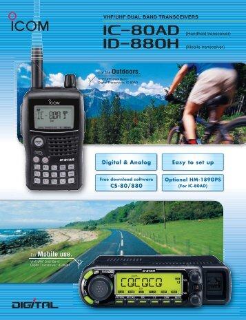 Brochure (PDF) - ICOM Canada