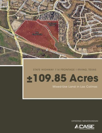±109.85 Acres - REO Workout