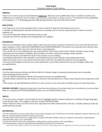 Uga Resume Builder Optimal Resume At University Of Georgia Online Free  Sample Resume Cover Uga Resume