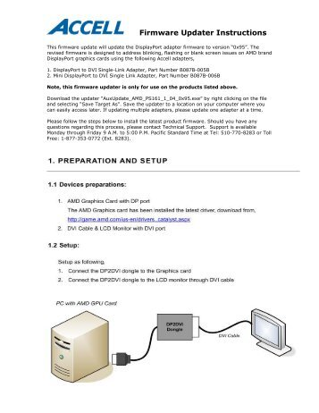 Firmware Updater Instructions - Accell