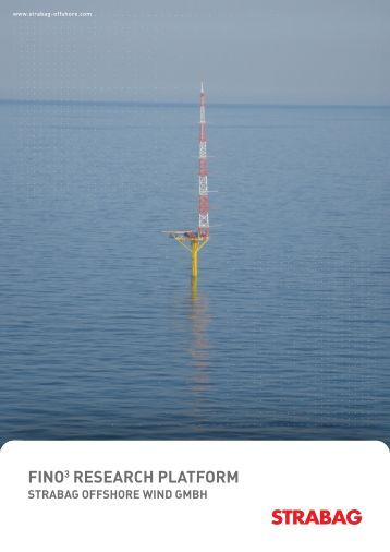 FINo3 RESEARCH PLATFoRM - STRABAG Offshore