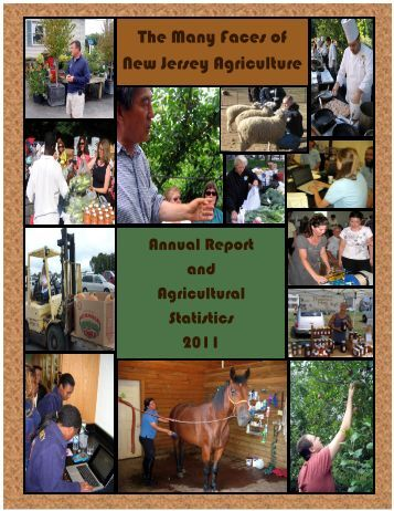 The Many Faces of New Jersey Agriculture - State of New Jersey
