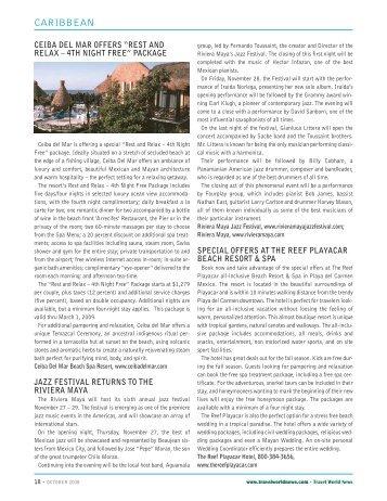 CARIBBEAN - Travel World News