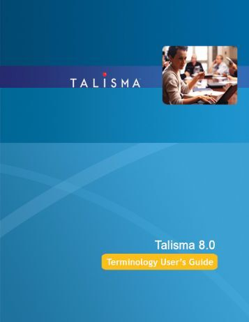 Terminology User's guide.book