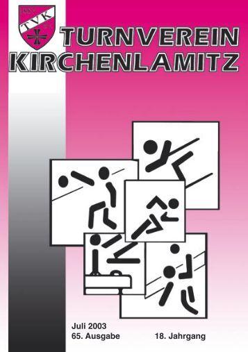 Juli 2003 - 65. Ausgabe - 18. Jahrgang - Herzlich Willkommen beim ...