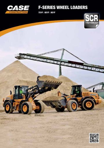 F-SERIES WHEEL LOADERS - Case Construction