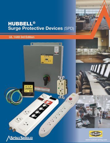 HUBBELL Surge Protective Devices (SPD) - Hubbell Wiring Device ...