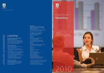 Marketing - University of South Australia