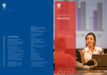 Marketing - University of South Australia