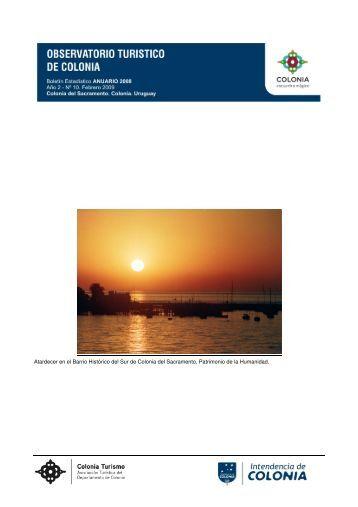 Anuario 2008 - Intendencia de Colonia