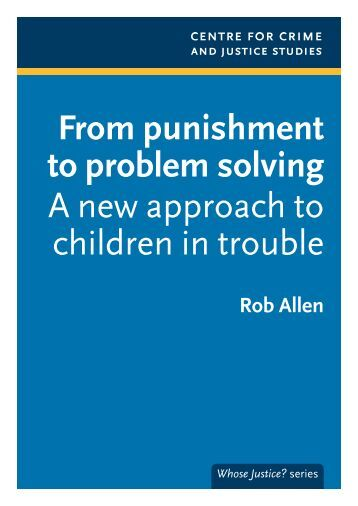 a problem of punishment Punishment- punishment has occurred when a response is followed immediately by a stimulus change that decreases the future frequency of similar responses (cooper & heron, 2007, applied behavior analysis.