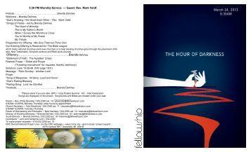 Download Bulletin - Fellowship